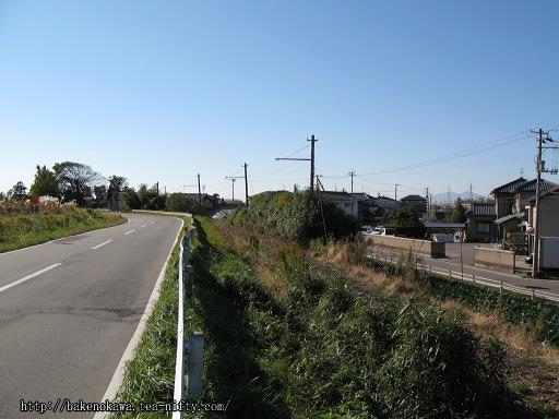 新大野駅近くの廃線跡その2