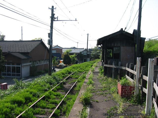 吉江駅の廃ホームその3