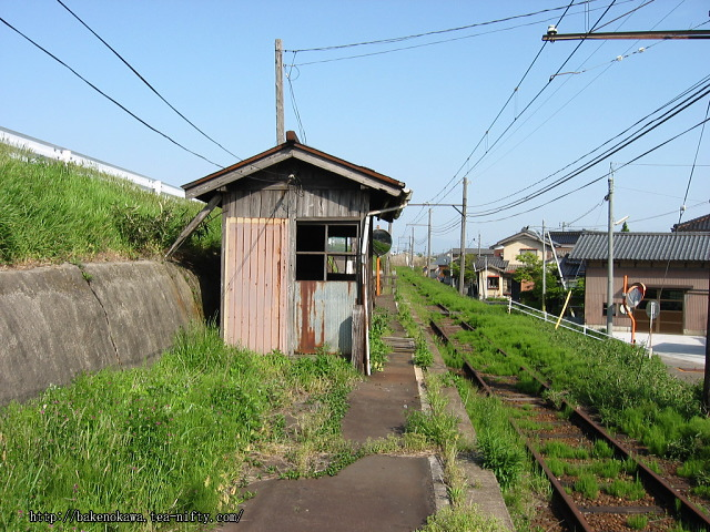 吉江駅の廃ホームその2