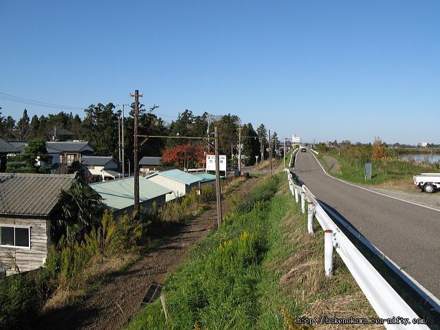 笹川邸付近の電鉄線廃線跡その2