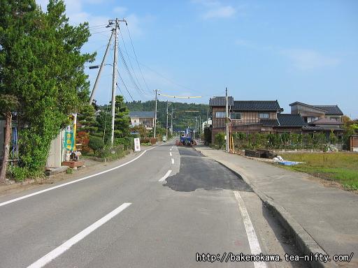 刈羽駅前通りその2