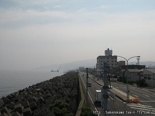 糸魚川駅付近の国道8号線その4