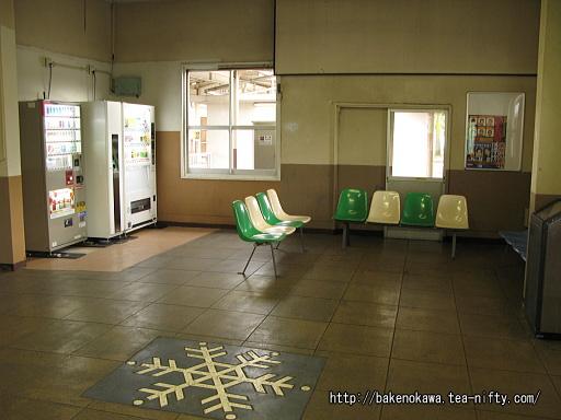 塩沢駅旧駅舎内部その1