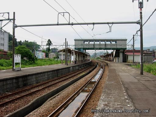 小千谷駅の1番ホームその3