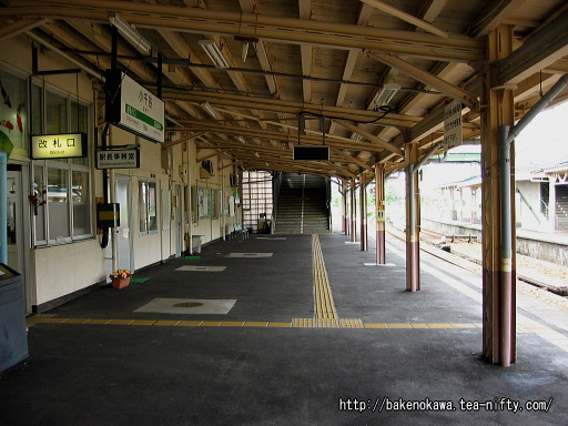 小千谷駅の1番ホームその1