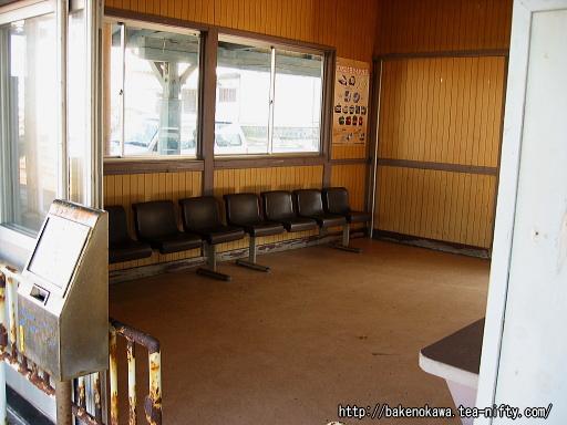 谷浜駅駅舎内部その2