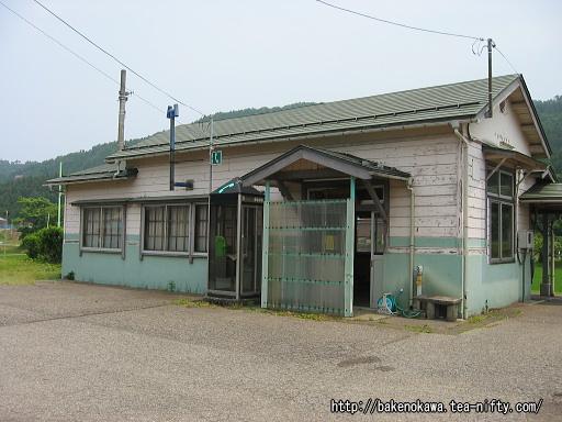 頸城大野駅駅舎その2