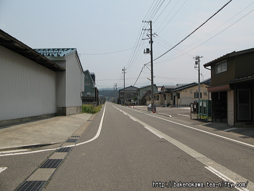 頸城大野駅前通りその2