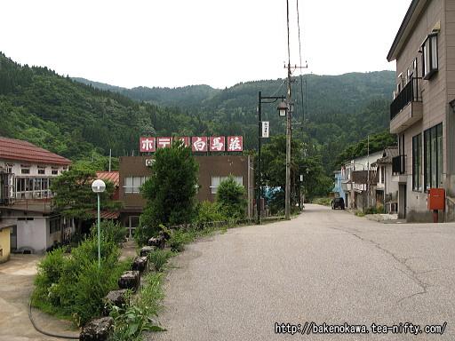 姫川温泉街その1