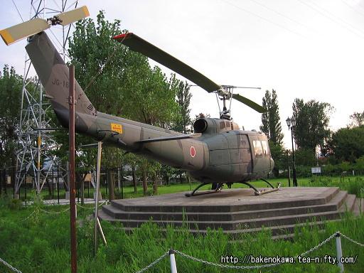 柏崎東口公園のUH-1Hヘリコプターその2