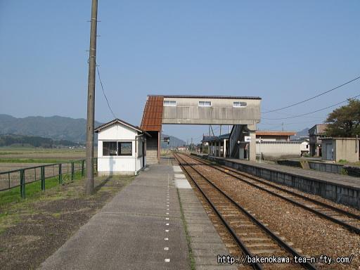 越後下関駅の2番ホームその3