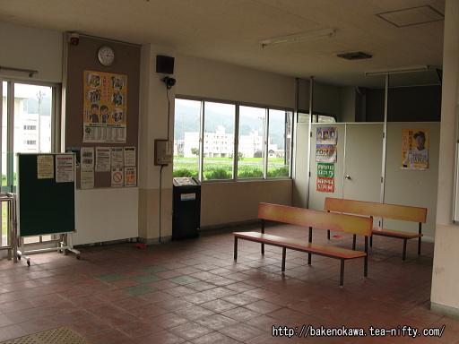 越後須原駅駅舎内部その2