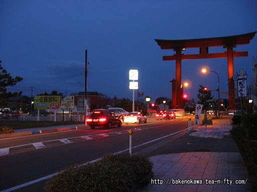 県道の日本一の大鳥居その2