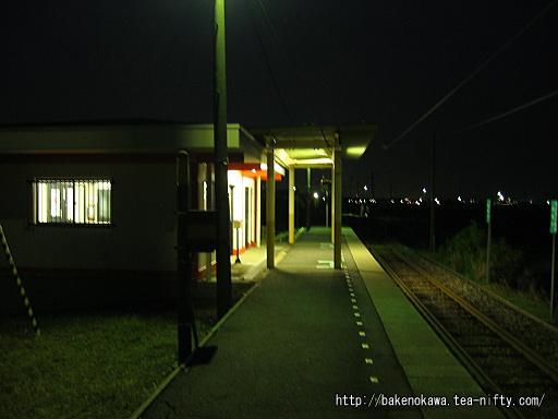 矢作駅のホームその3