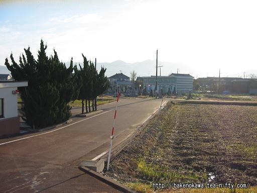 駅前ロータリー整備以前の前川駅前