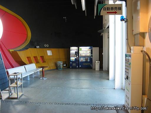 くびき駅駅舎内部その1