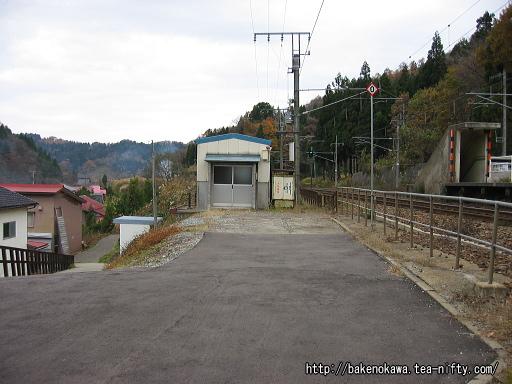 かつての駅舎跡?その1