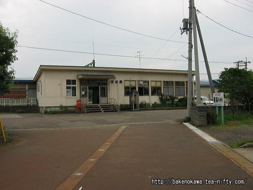 安田駅駅舎その1