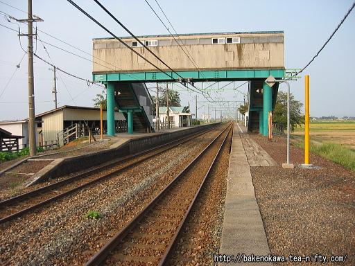 東光寺駅の上りホームその2