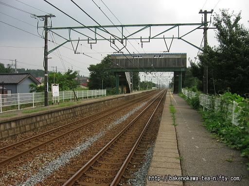 田上駅の下りホームその2