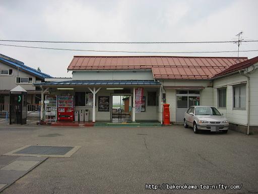 羽生田駅の旧駅舎その1