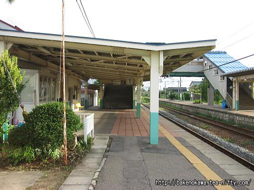 羽生田駅の1番ホームその4