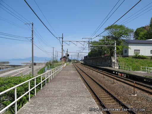 有間川駅の1番ホームその1