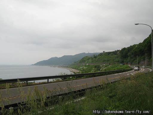 北陸本線旧線跡の自転車道