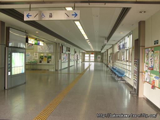 六日町駅駅舎内部その1