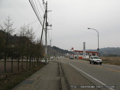 北堀之内駅付近の国道17号線その1