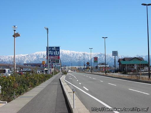 西新発田駅前通りその二