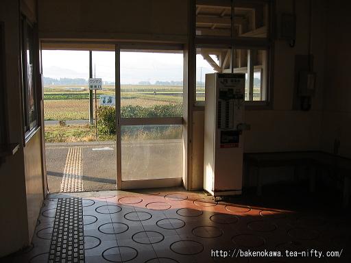 猿和田駅旧駅舎内部その2