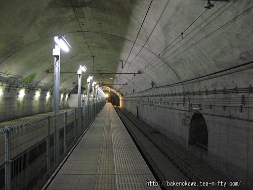 土合駅の地下ホームその6