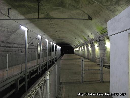 土合駅の地下ホームその7