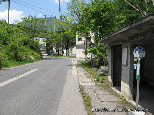 「ゆびそ駅前」バス停