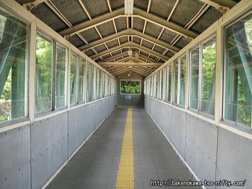 土樽駅の跨線橋