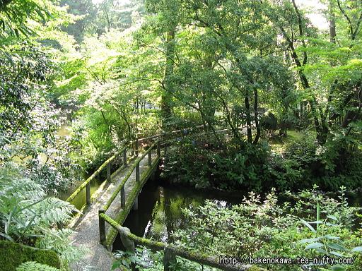 広い池を廻る庭園その一