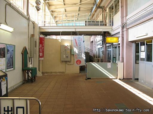 石打駅駅舎内部その6