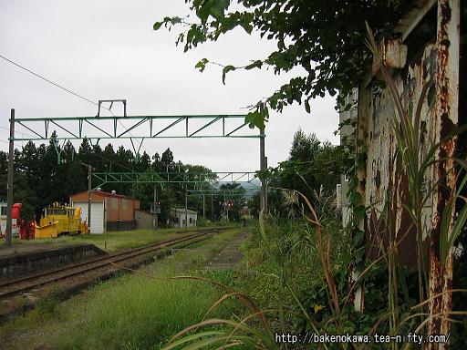 関山旧駅跡その1