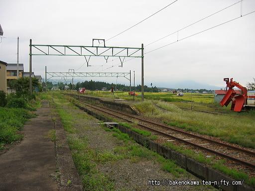関山旧駅跡その2
