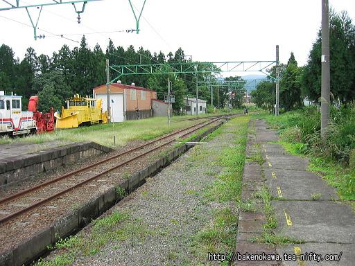 関山旧駅跡その3