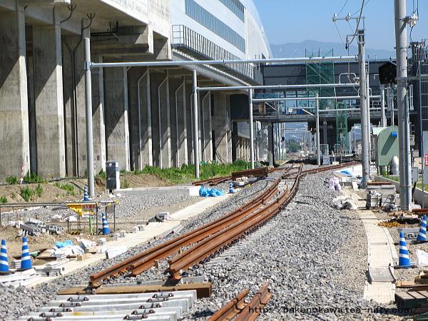 建設中の上越妙高在来線駅