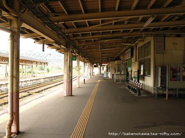 妙高高原駅の1番線その3