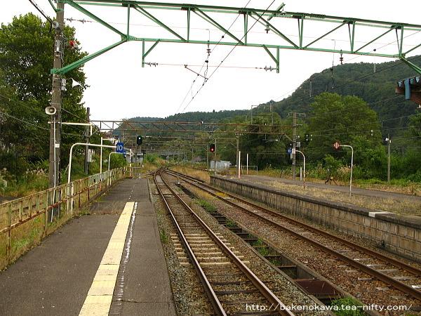 妙高高原駅の1番線その5