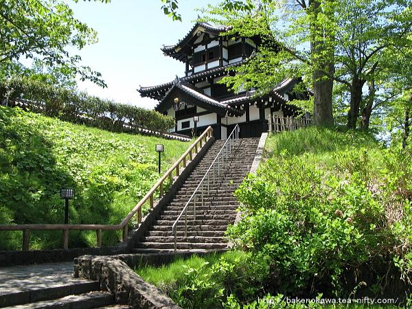 高田城三重櫓