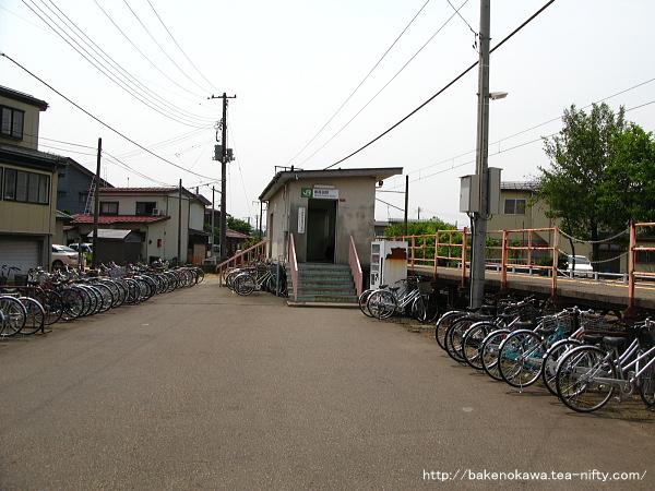 南高田駅駅舎その二