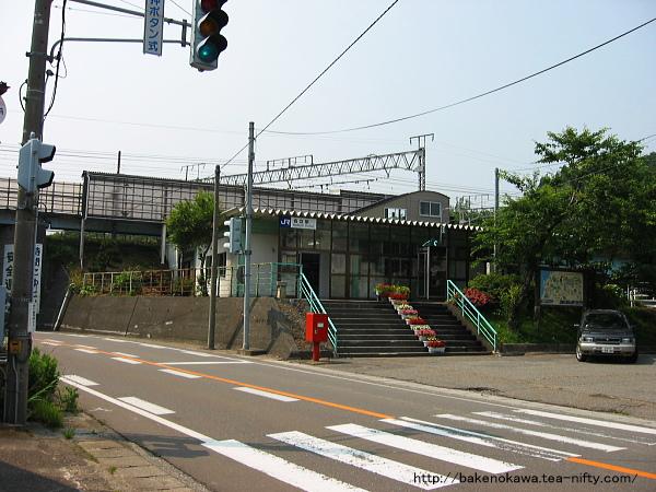 名立駅駅舎