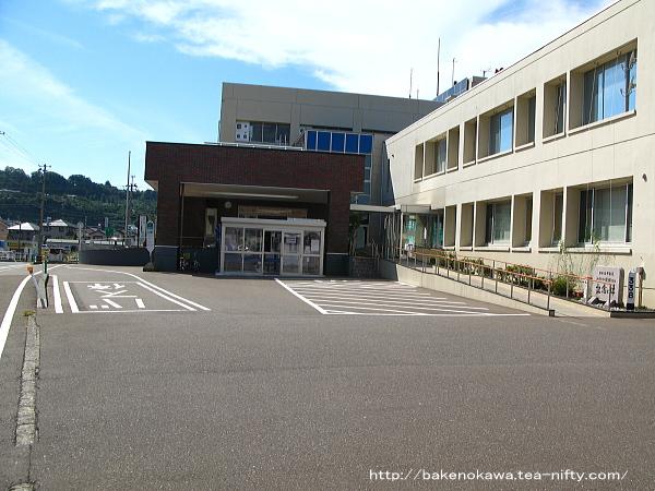 旧能生町役場の様子