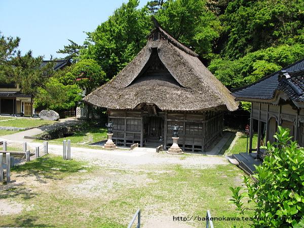 旧能生町の白山神社
