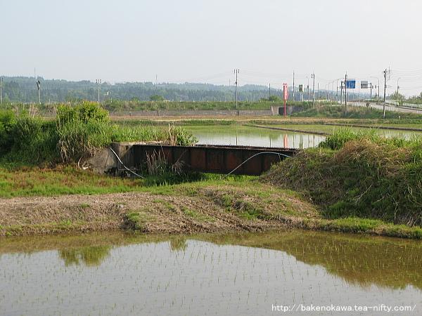 越後交通長岡線の遺構その2